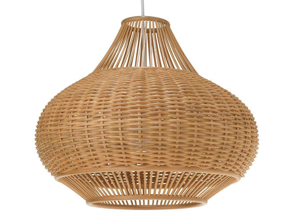 Kronleuchter Mit Holzperlen ~ Kouboo wicker pear pendant lamp natural lighting. pinterest