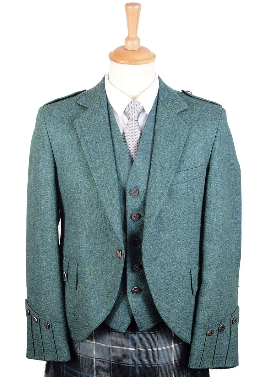 Luxury Tweed Argyll Tweed Jacket in Highland Green | 2017 Wedding ...
