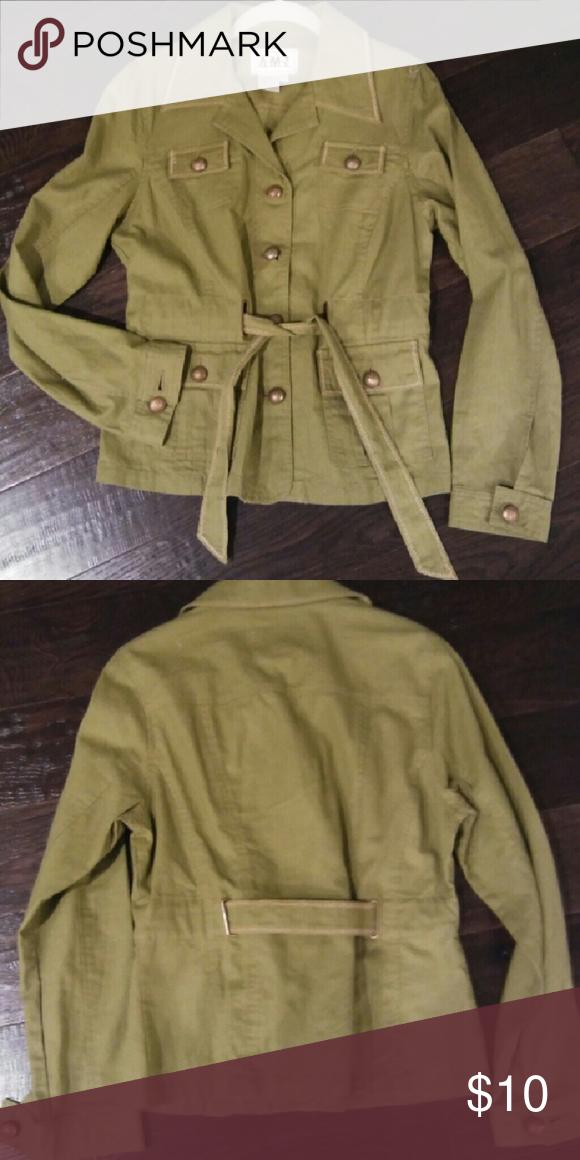 Jacket Linen/cotton jacket never worn amx Jackets & Coats Blazers