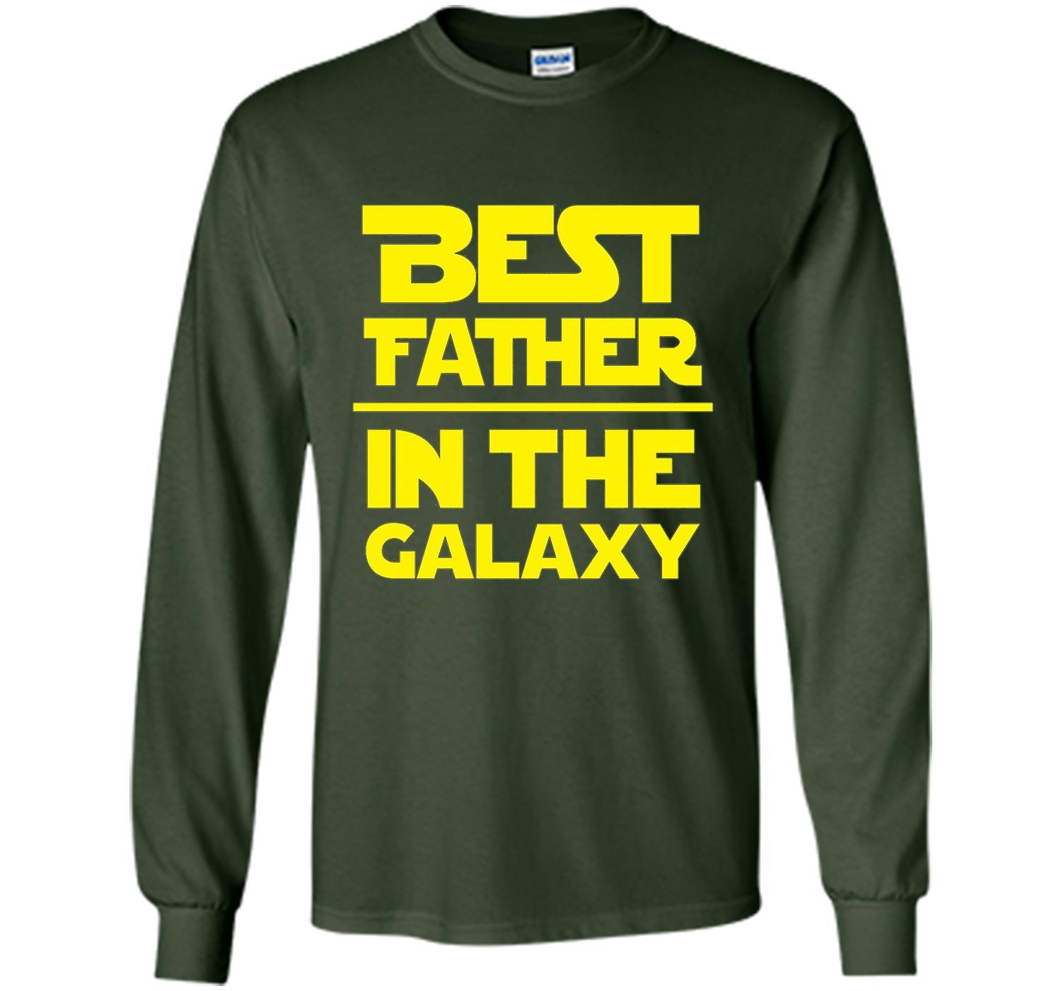 Men's Best Father In The Galaxy T-Shirt