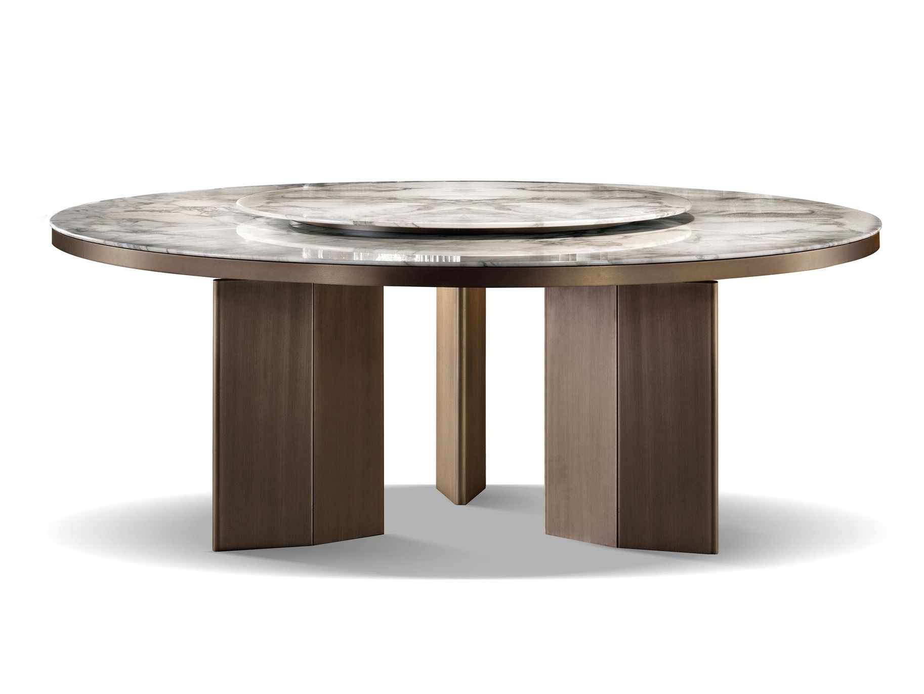 Round Table Ceres Ca.Tavolo Morgan Marble By Minotti Table In 2019 Dining Room Chairs