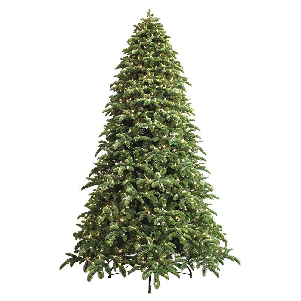 9 ft. Just Cut Noble Fir EZ Light Artificial Christmas