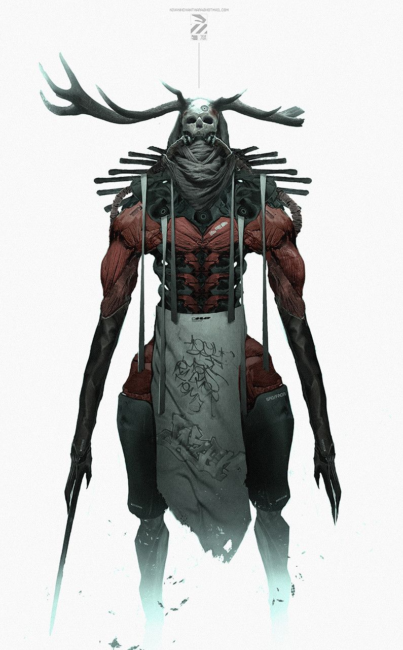 ArtStation - The Lord Weird Slough Feg., Nivanh Chanthara