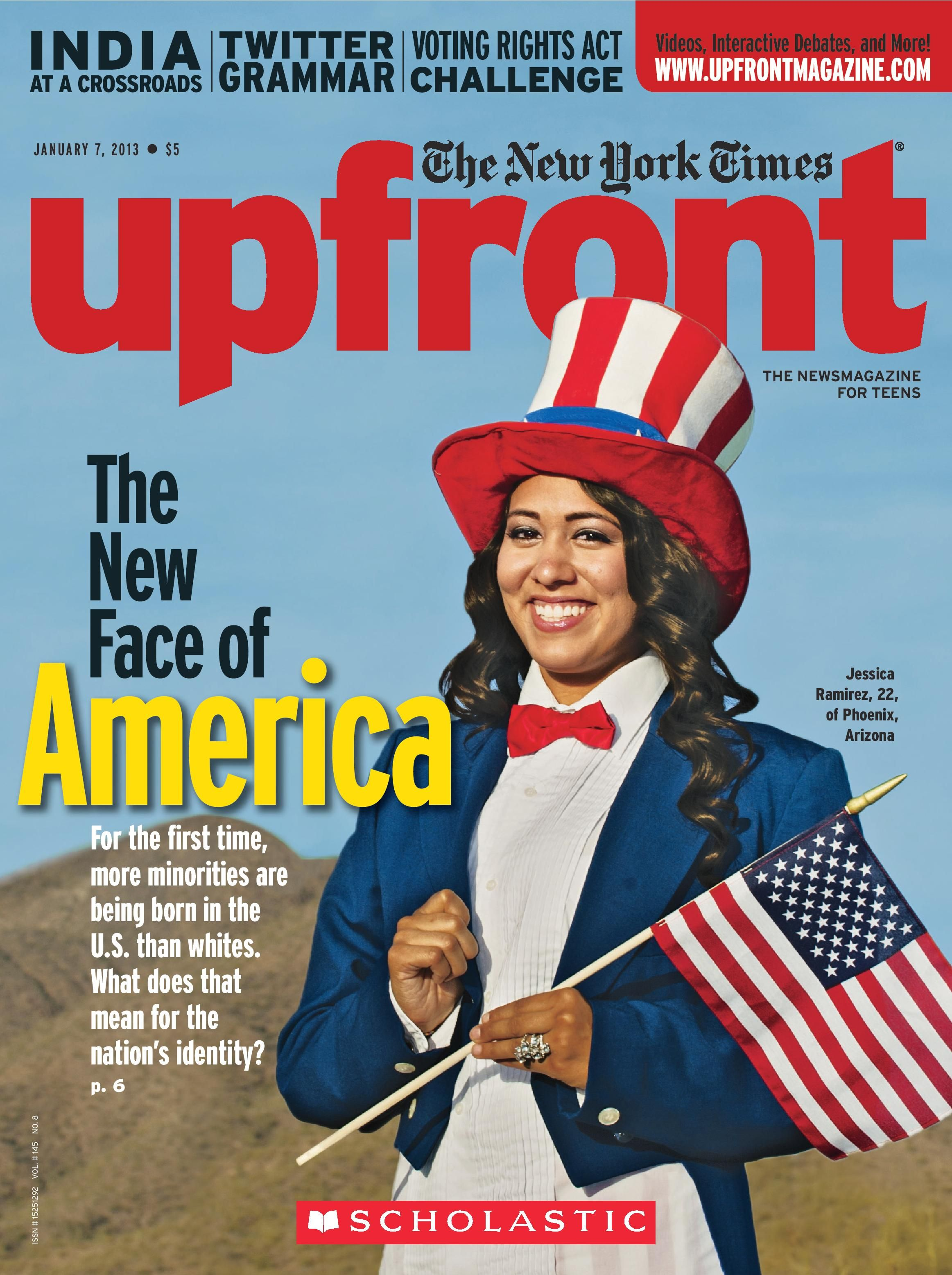 The New York Times Upfront Scholastic S News Magazine For