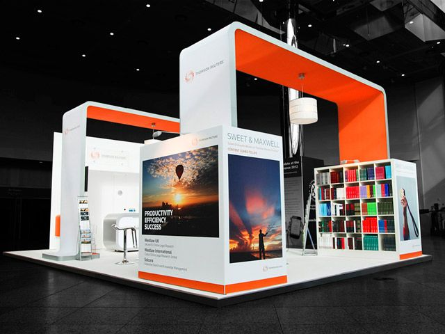 Modular Exhibition Stands Out : Exhibitionstand for thomson reuters international bar
