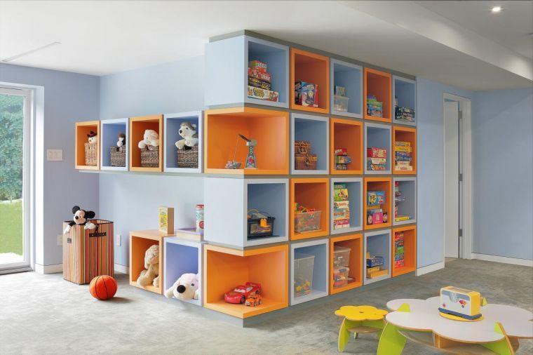 Rangement Salle De Jeux Enfant 50 Idees Astucieuses Rangement