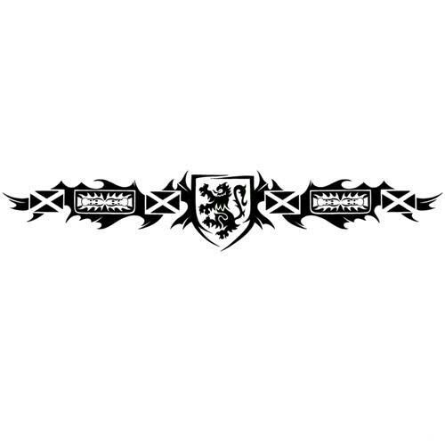 Scottish Lion Tattoo: Scottish Lion Flag Tattoo Design