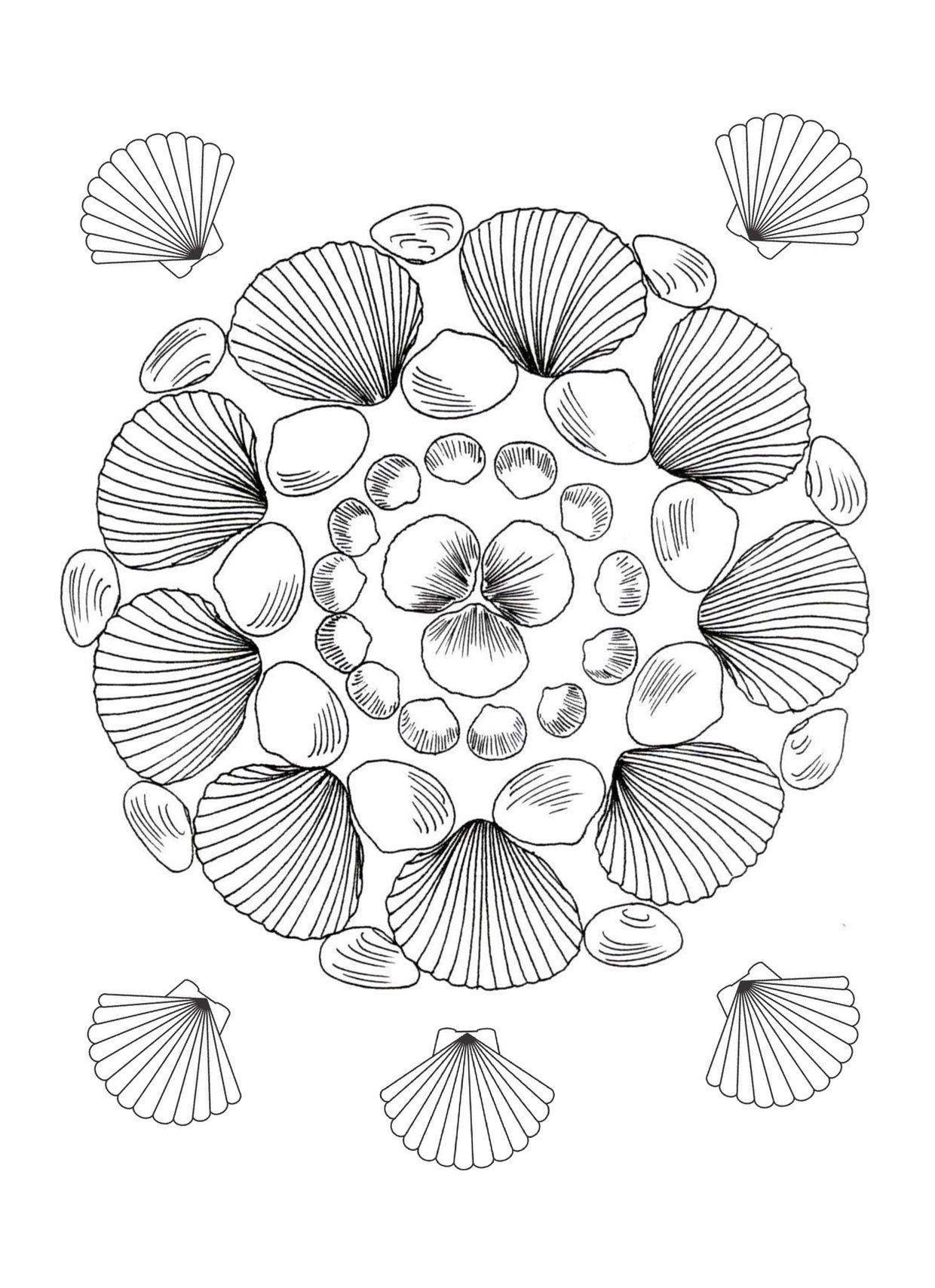 kleurplaten minions mandala