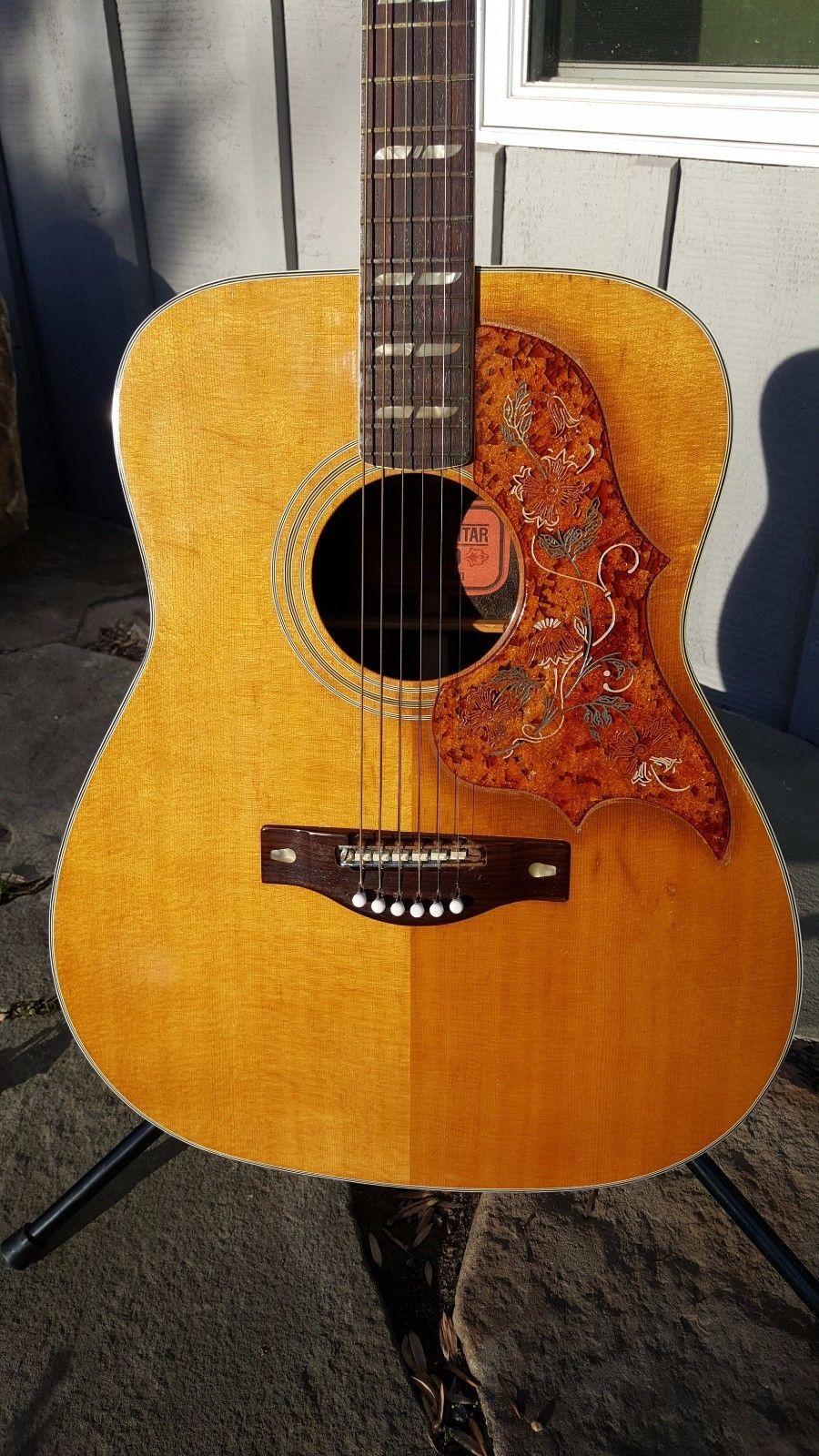 Yamaha Fg 300 Vintage Acoustic Guitar 1970 Nippon Gakki Near Mint Condition Yamaha Guitar Guitar Acoustic Guitar