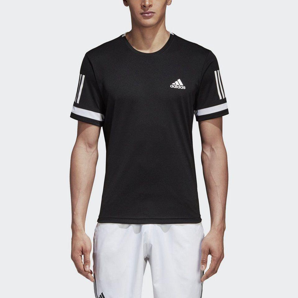 Adidas Performance T-shirt »3-streifen Club T-shirt« Blue