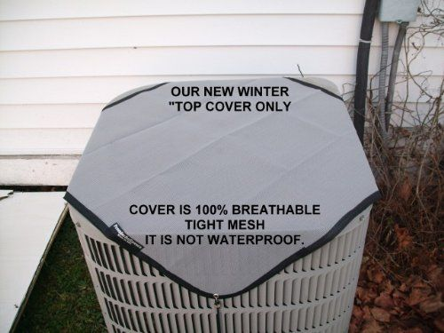 Air Conditioner Cover Winter Top 34 34 X34 34 Gray The Only Cover That Outdoor Air Conditioner Air Conditioner Cover Air Conditioner Covers