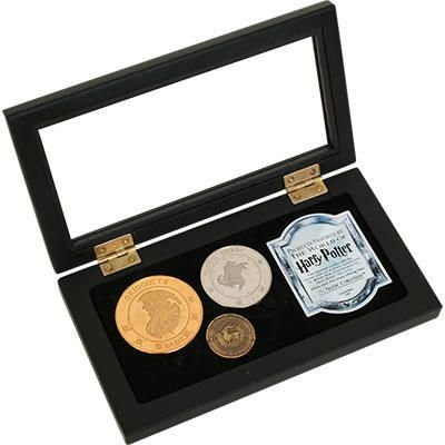 One of my favorite discoveries at HarryPotterShop.com: Gringotts Bank Coin Collection by Noble Collection