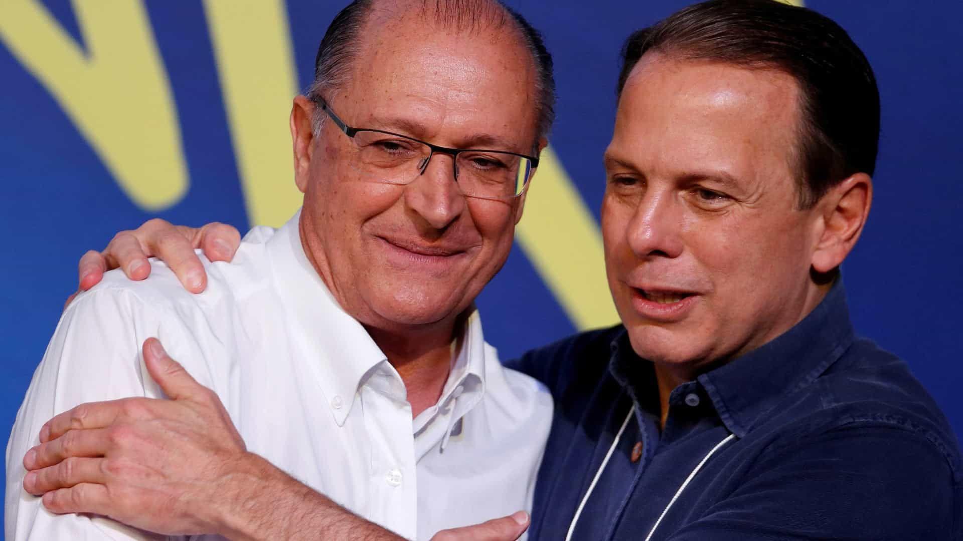 Alckmin é 'lançado' candidato a governador e cria saia