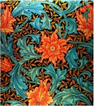 William Morris Wallpaper...love this for an accent wall or drawer fronts on a accent piece of furniture...love!