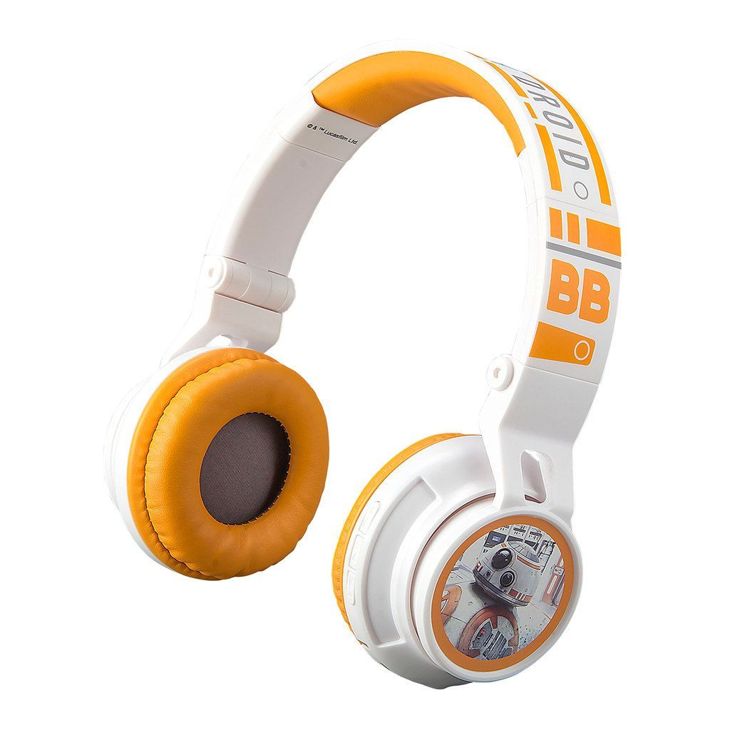 65c6d5d2e9a Star Wars: Episode Viii The Last Jedi BB-8 Youth Bluetooth Headphones by  eKids, Multicolor