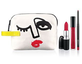 Lip Bag By JulieVerhoeven-Red 紅色 x 3 ($440)