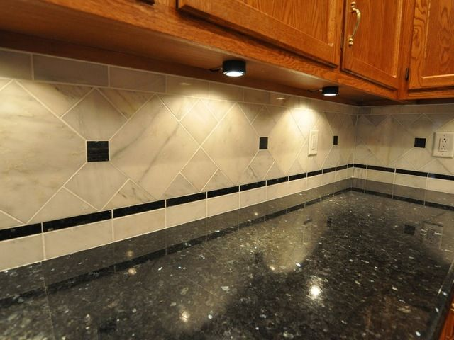 Countertop Backsplash Ideas Part - 46: Granite Countertops And Tile Backsplash Ideas - Eclectic - Kitchen -  Indianapolis - Supreme Surface, Inc.
