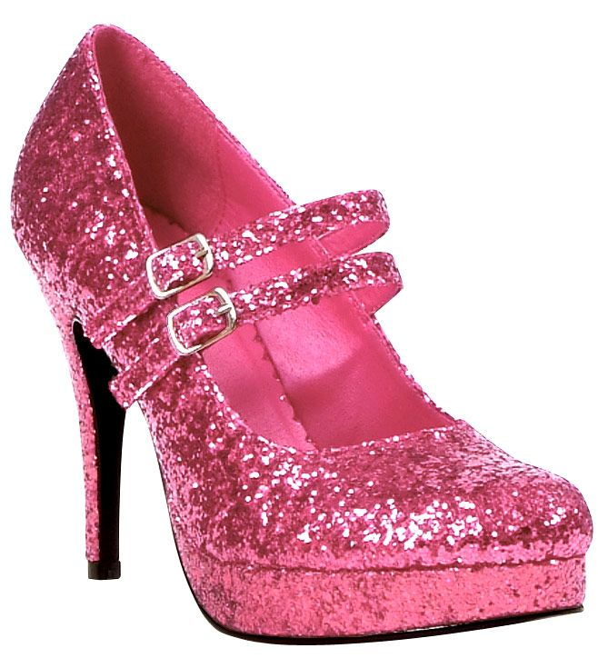 Sparkly shoes, Pink sparkly shoes, Pink