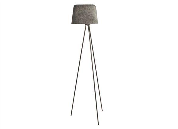 I Am So Smitten With Tom Dixon Grey Felt Shade Tripod Floor Lamp Lighting Tripod Floor Lamps Floor Lights Tom Dixon