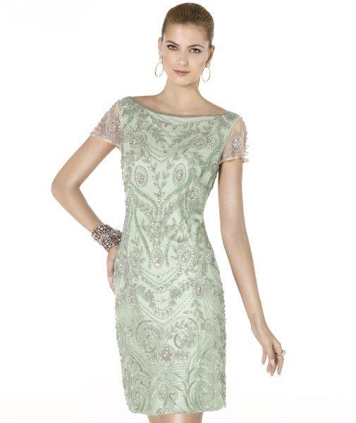 Vestidos sencillos para bodas de día Image: 5