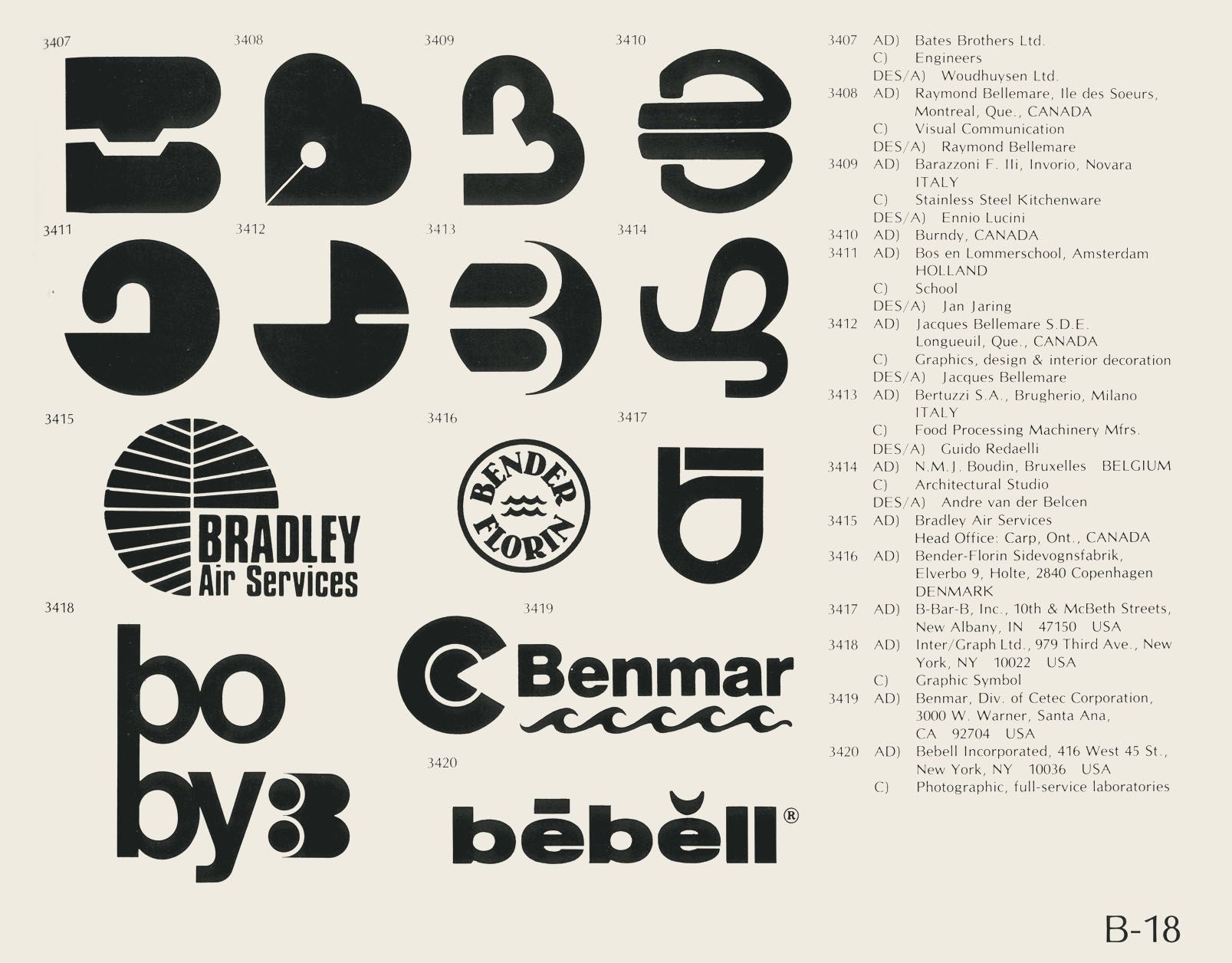 World of Logotypes book by Al Cooper