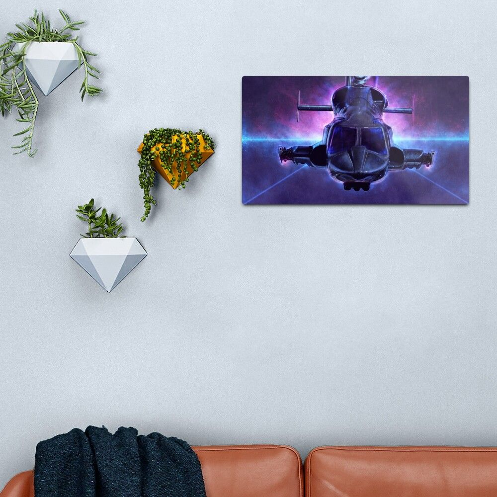 17 Airwolf Metal Print by p1xer