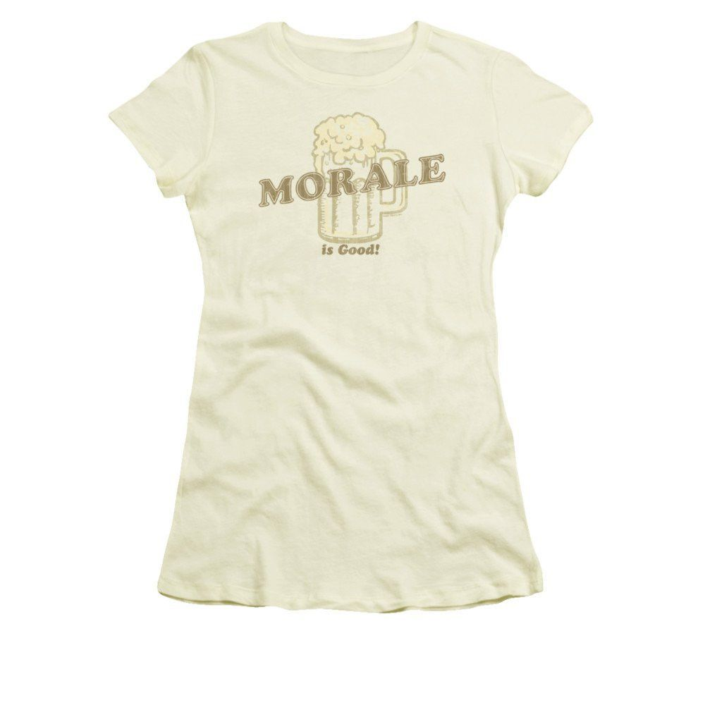 Morale Is Good Junior T-Shirt