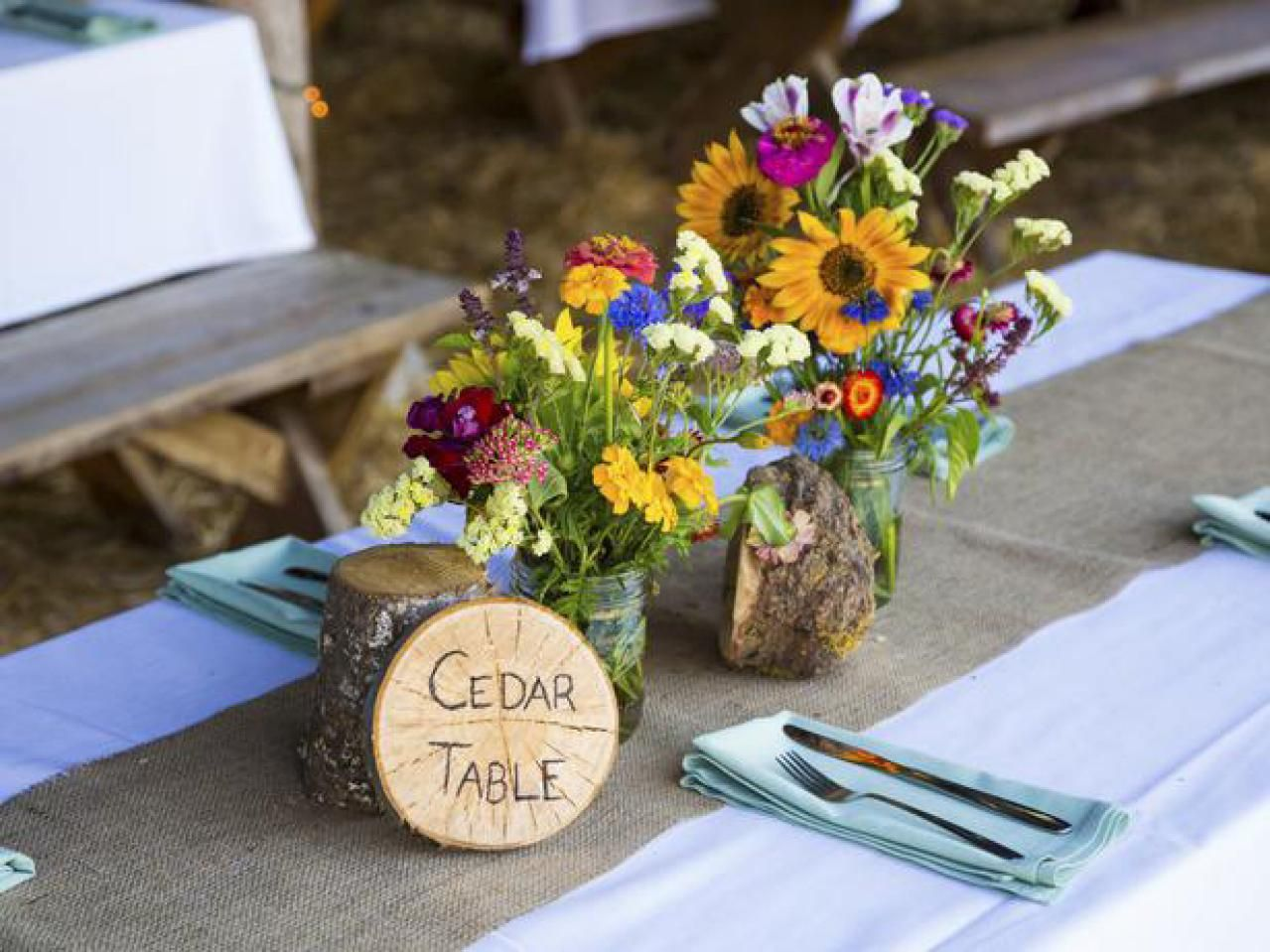Country Wedding Decor  Southern Lifestyle  Celebrity Living
