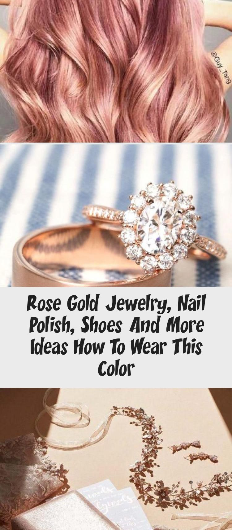 Photo of Rose Gold Jewelry, Nail Polish, Shoes And More Ideas How To Wear This Color