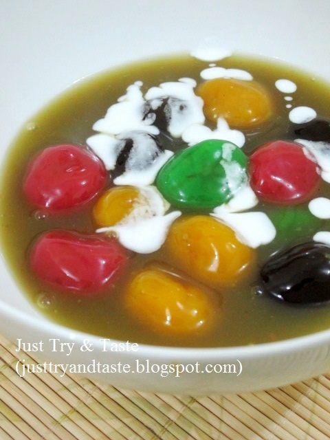 Bubur Candil Pelangi Memasak Resep Makanan Manis