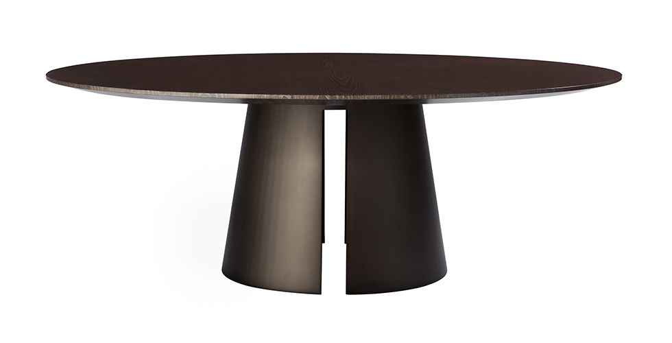 Fuego Round Dining Table 9423 Round Dining Table With A Wood
