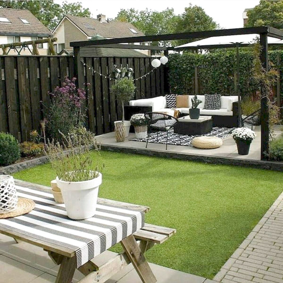 36 Amazing Small Garden Design Ideas Low Maintenance in ...