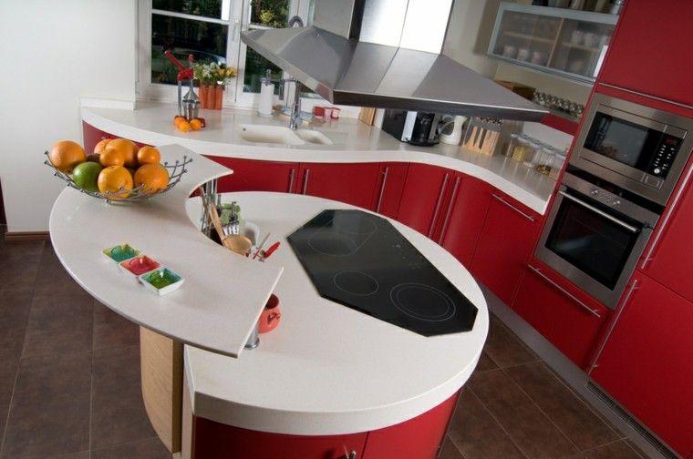 Cocinas Modernas Con Isla 100 Ideas Impresionantes Decoracion De Cocina Moderna Islas De Cocina Isla Cocina Moderna