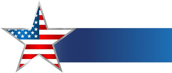 Usa Star Banner Png Clip Art Image Best Banner Design Art Images Best Banner