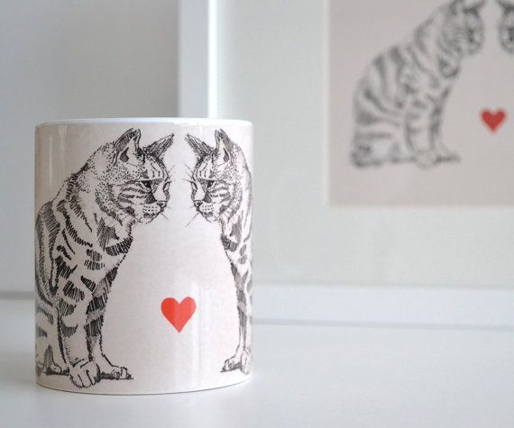 Hey, I found this really awesome Etsy listing at https://www.etsy.com/uk/listing/236590973/love-cats-mug-a-contemporary