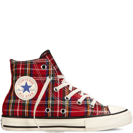 Chuck Taylor All Star Tartan Plaid TdlrYth 346376C
