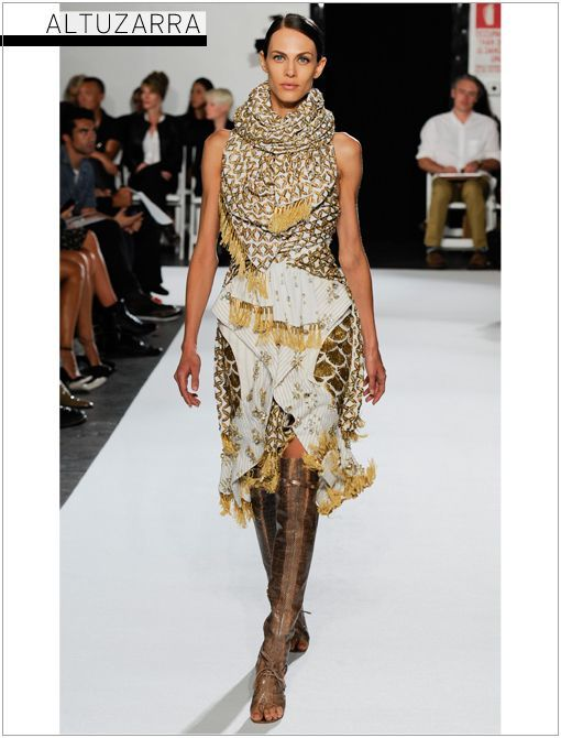 nice Show of the Day: Altuzarra S/S 2013 - Celebrity Style and Fashion from WhoWhatWear... Celebrity Style Check more at http://pinfashion.top/pin/60408/