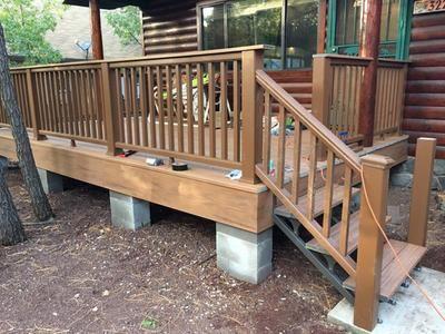 Best Quickstep Quick Step 3 Step Aluminum Deck Stair Stringer 400 x 300