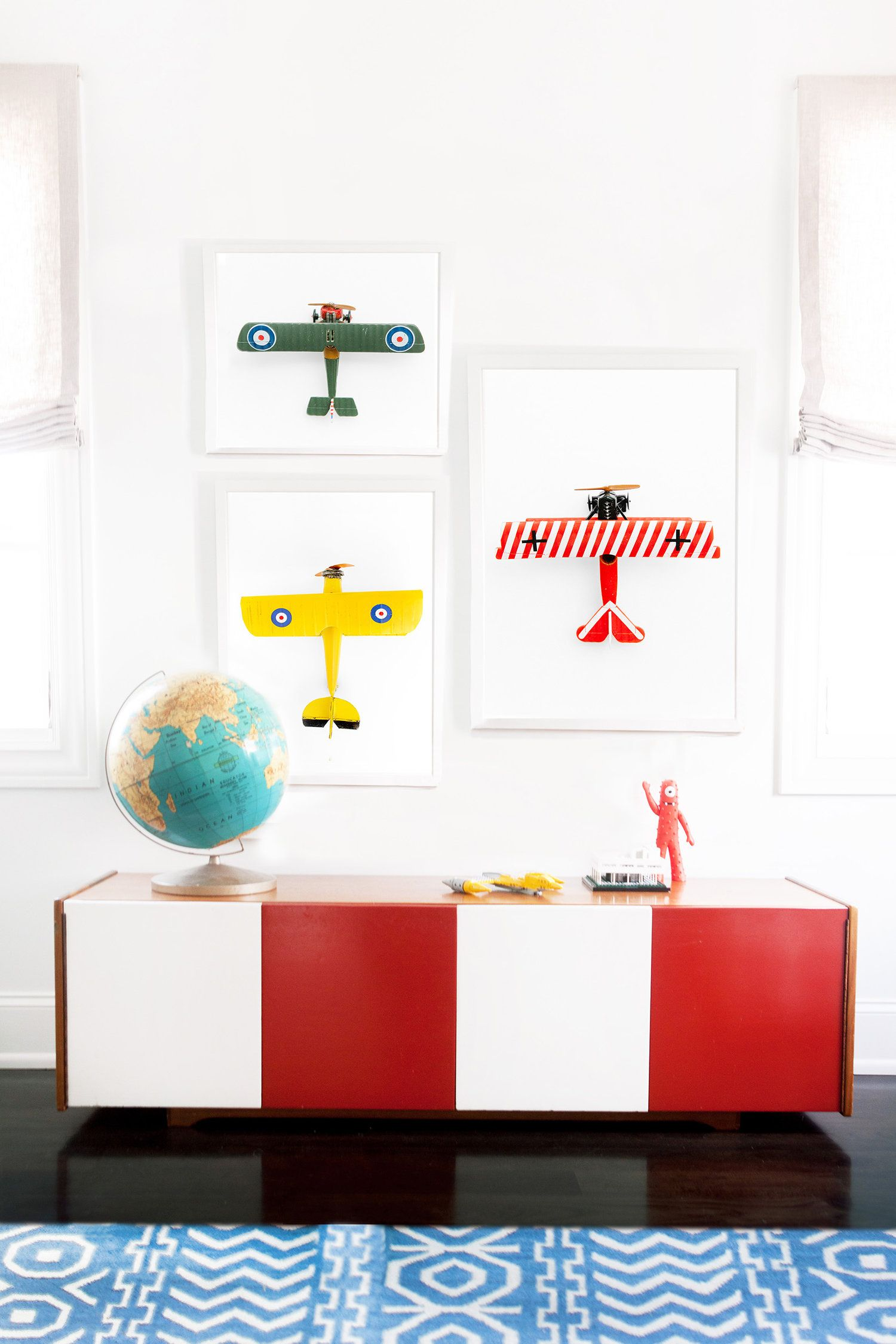 Skandinavische Möbel Kinder Airplane Art By Leslee Mitchell Perfect For Boys Bedroom Or
