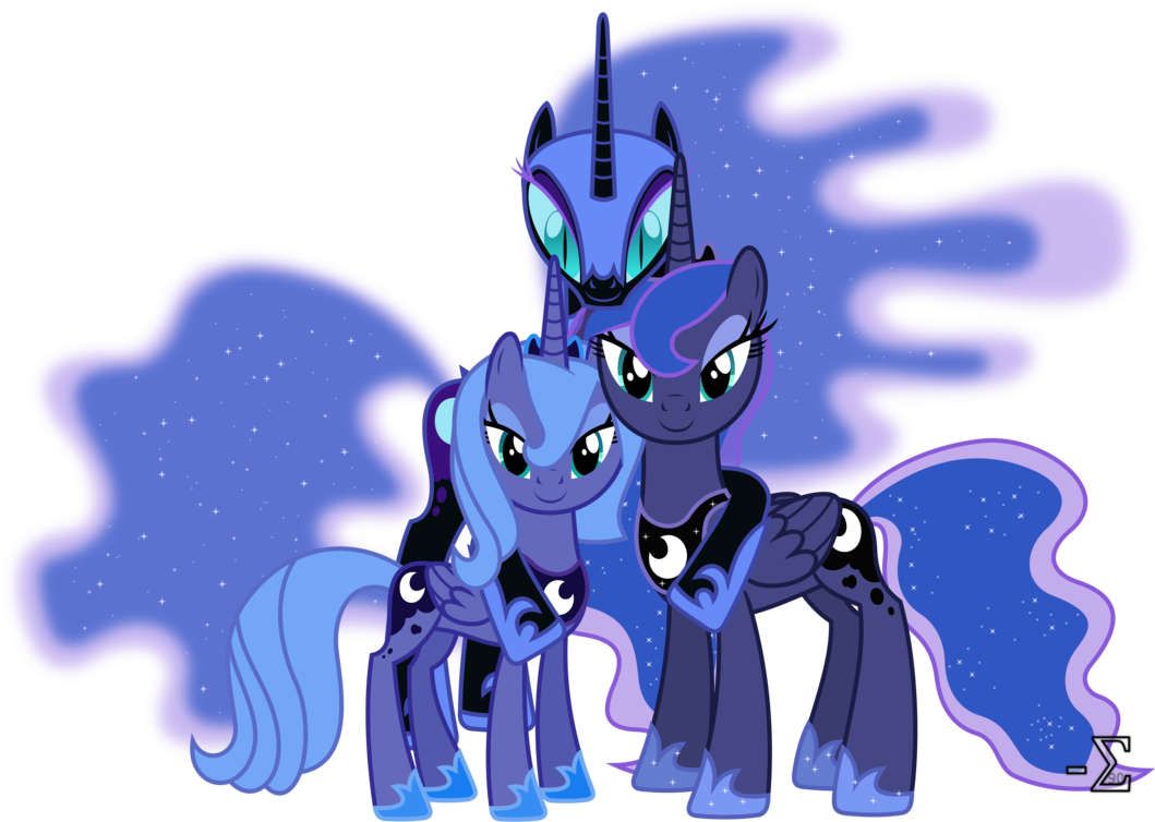 My Little Pony Princess Luna | Princess Luna's Alibis by 90Sigma