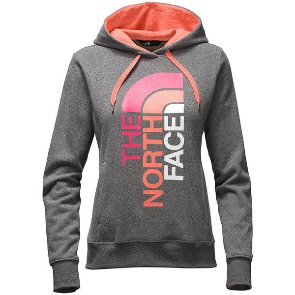 a4ae1fd79 Amazon.com: The North Face Women's TriVert Logo Pullover Hoodie ...