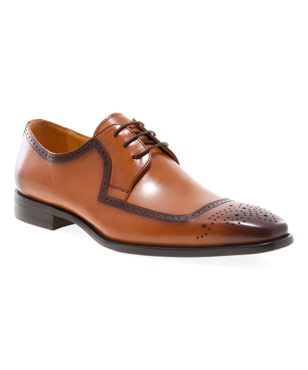 Tan Harold Leather Oxford