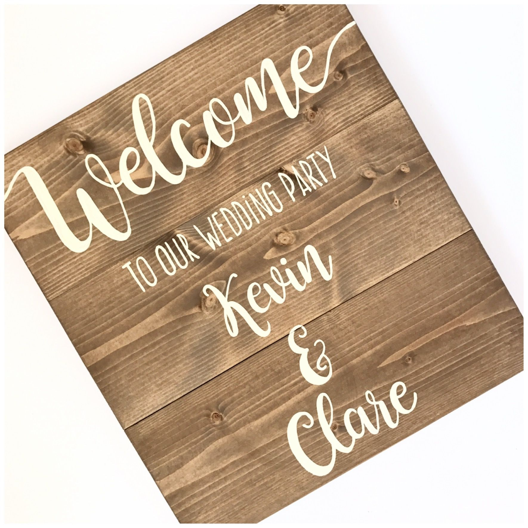 Welcome your guests signs of the times pinterest wedding shop online with the old potting shed based in sudbury we ship wedding centrepieces guest books and more throughout the uk junglespirit Image collections