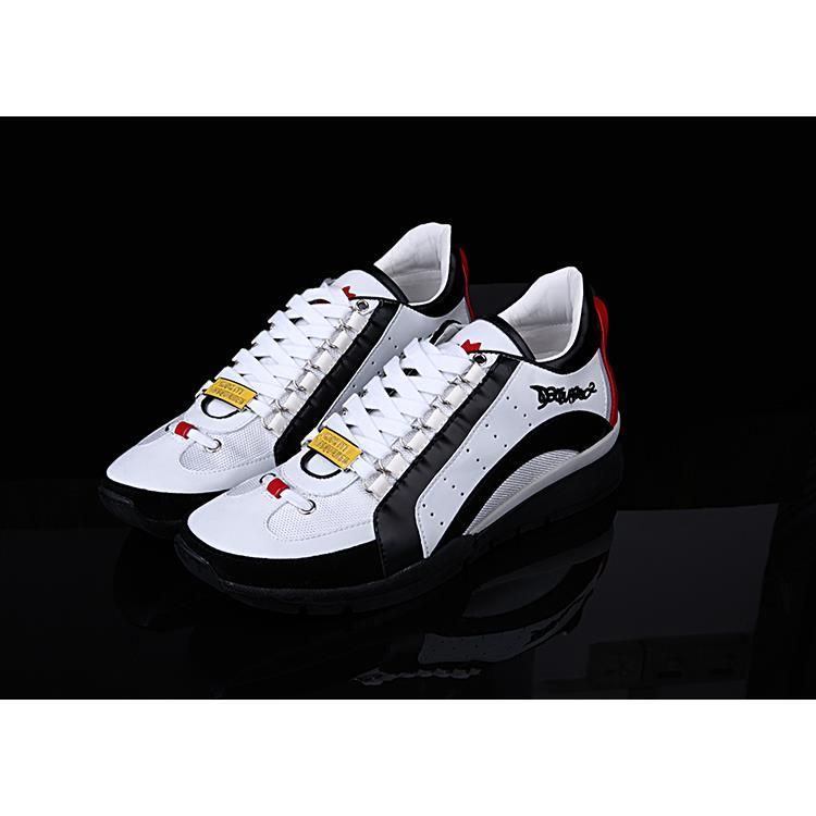 Dsquared2 D2 1:1 shoes, Leather Men Sneakers Spring Male Casual Shoes New  2015
