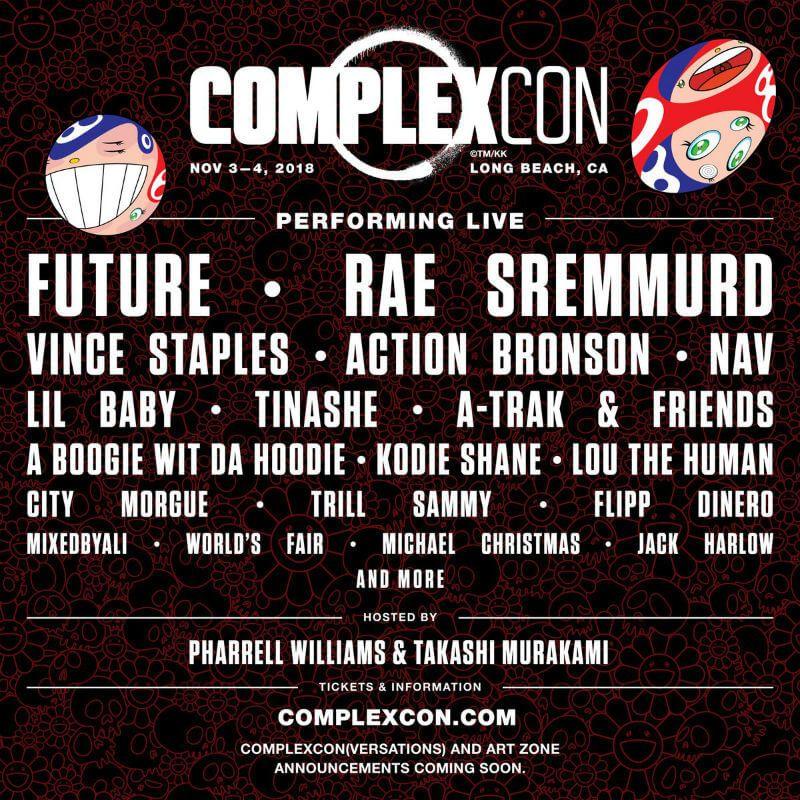 Complexcon 2018 Hip Hop Festival Complex Magazine American Festivals