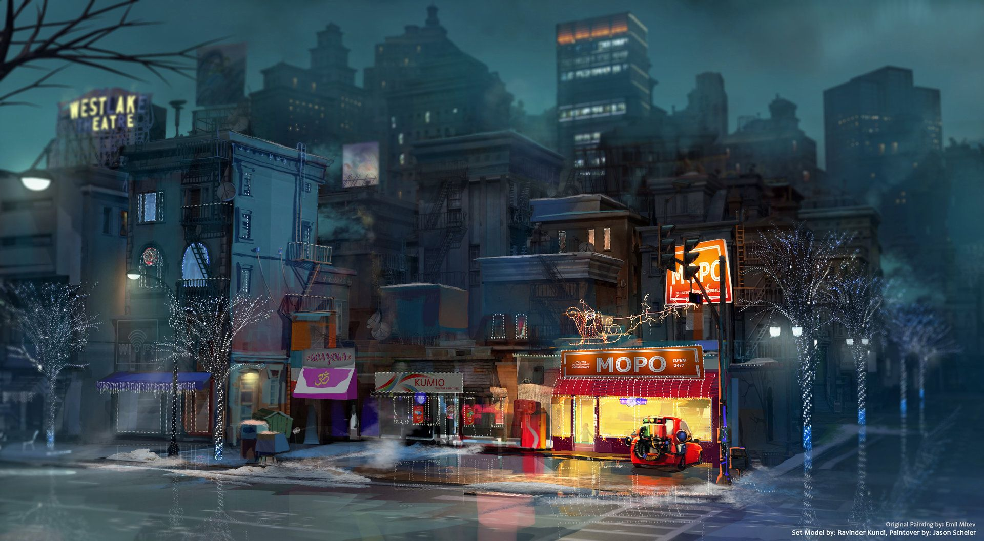 ArtStation - DreamWorks Home Visual Development, Jason Scheier