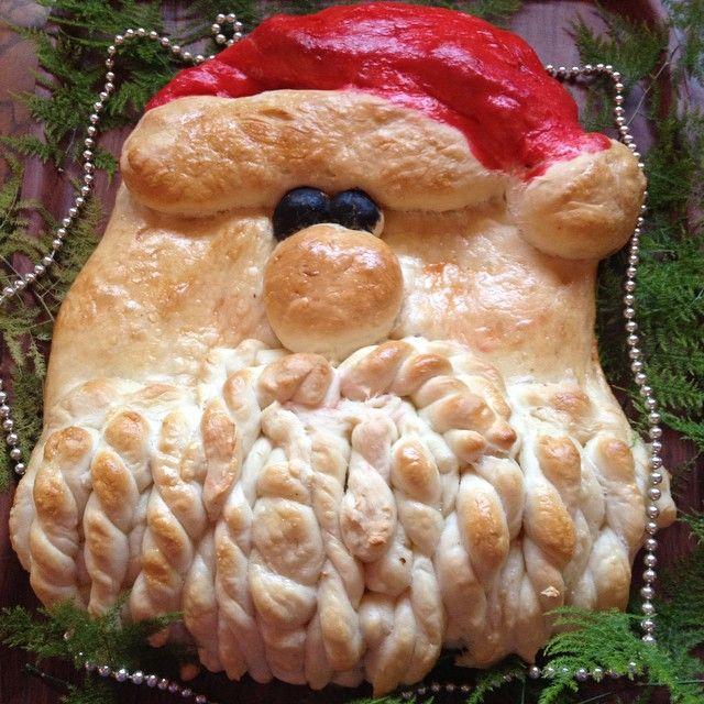 Santa bread / Pan Papá Noel