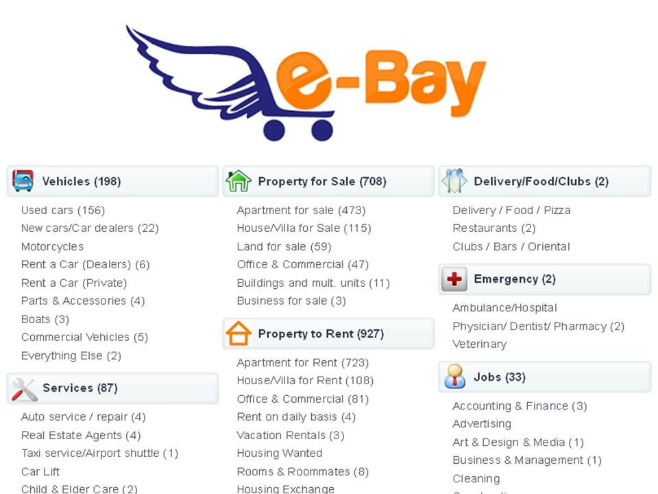 E Bay Ae Is One Of The Best Classifieds Websites In Dubai To More