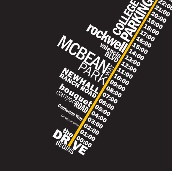 """typography timeline poster - Google Search  I like the sense of direction for this timeline. The """"Diagonal"""". It could make a nice subtle background."""