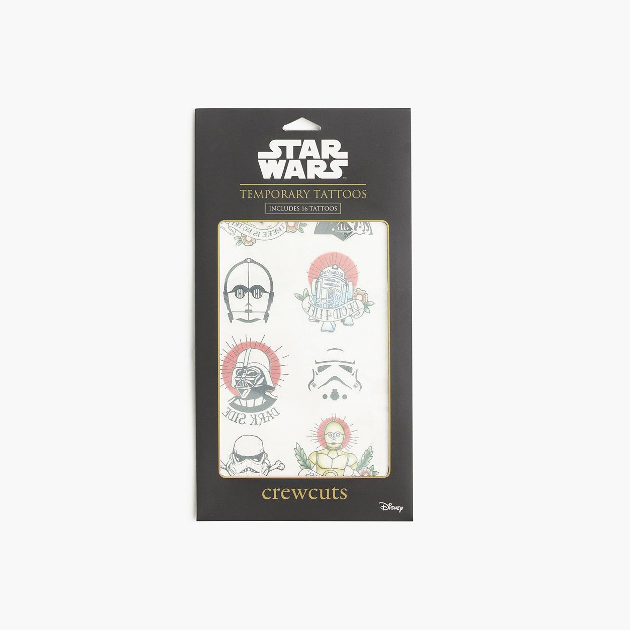 Boys Star Wars For crewcuts Temporary Tattoos